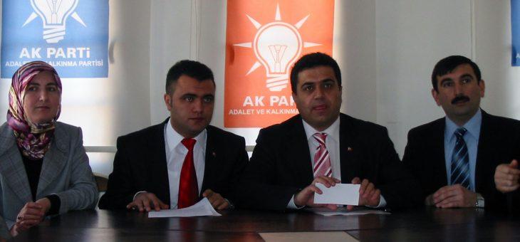 Murat Toraman AK Parti Sivas Gençlik Kolları Başkanlığına Atandı