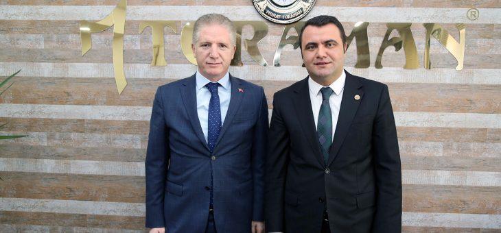Vali Davut Gül Murat Toraman'ı Ziyaret Etti