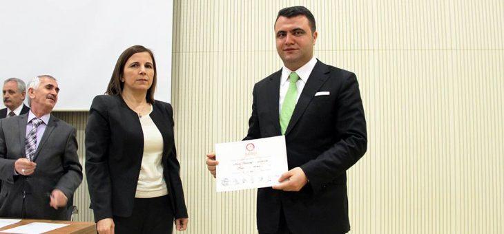 Murat Toraman Sivas il Genel Meclisi Üyesi Seçildi