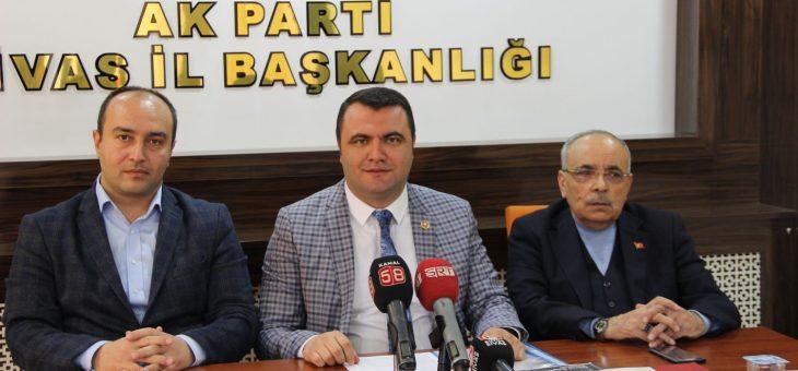 Murat Toraman AK Parti Sivas Belediye Başkan Aday Adaylığını Açıkladı