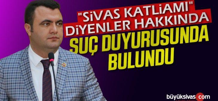 Murat Toraman 'ın Sivas Katliamı Diyenler için Suç Duyurusu Gündem Oldu